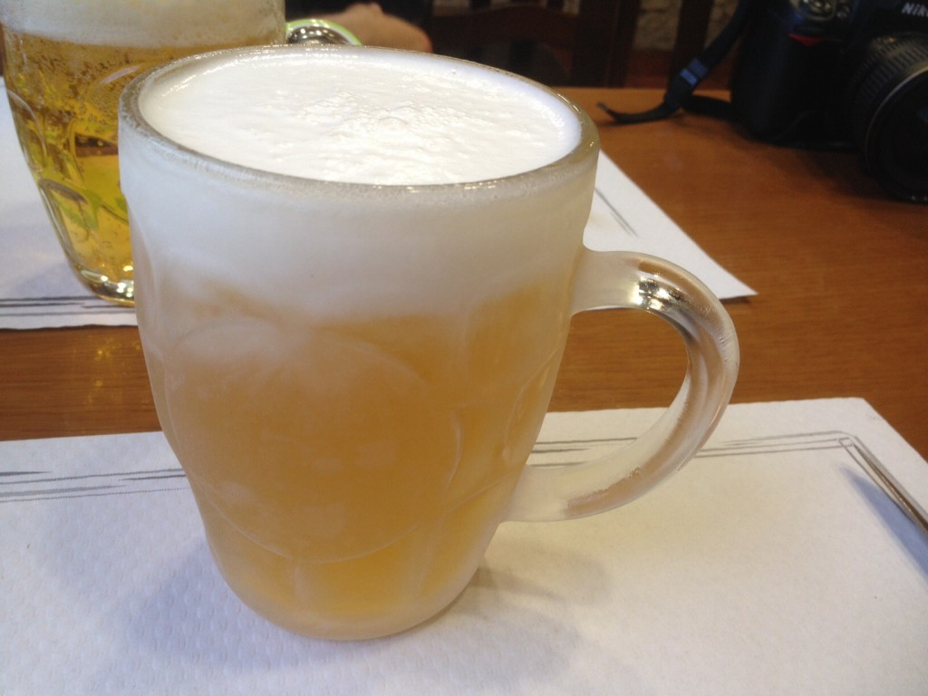 image of cana beer mug
