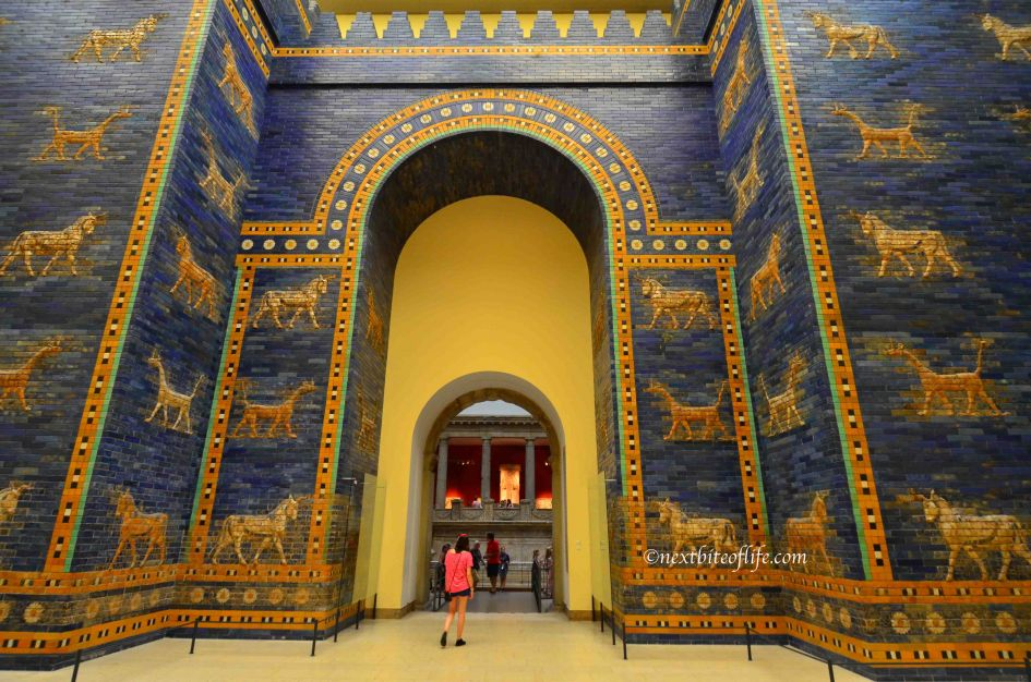 ishtar gate at the pergamon museum