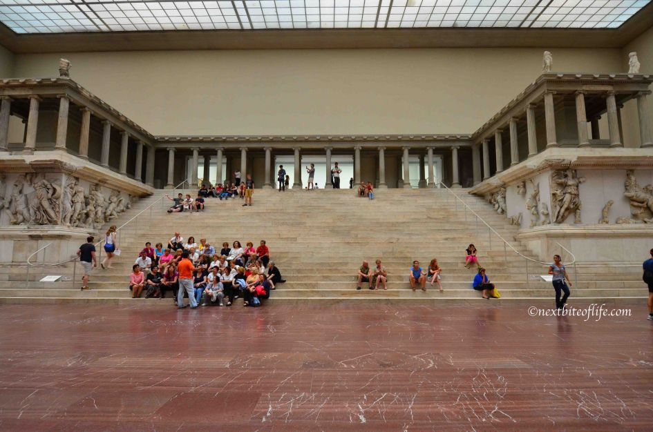 Pergamon Altar at the Pergamon museum Berlin
