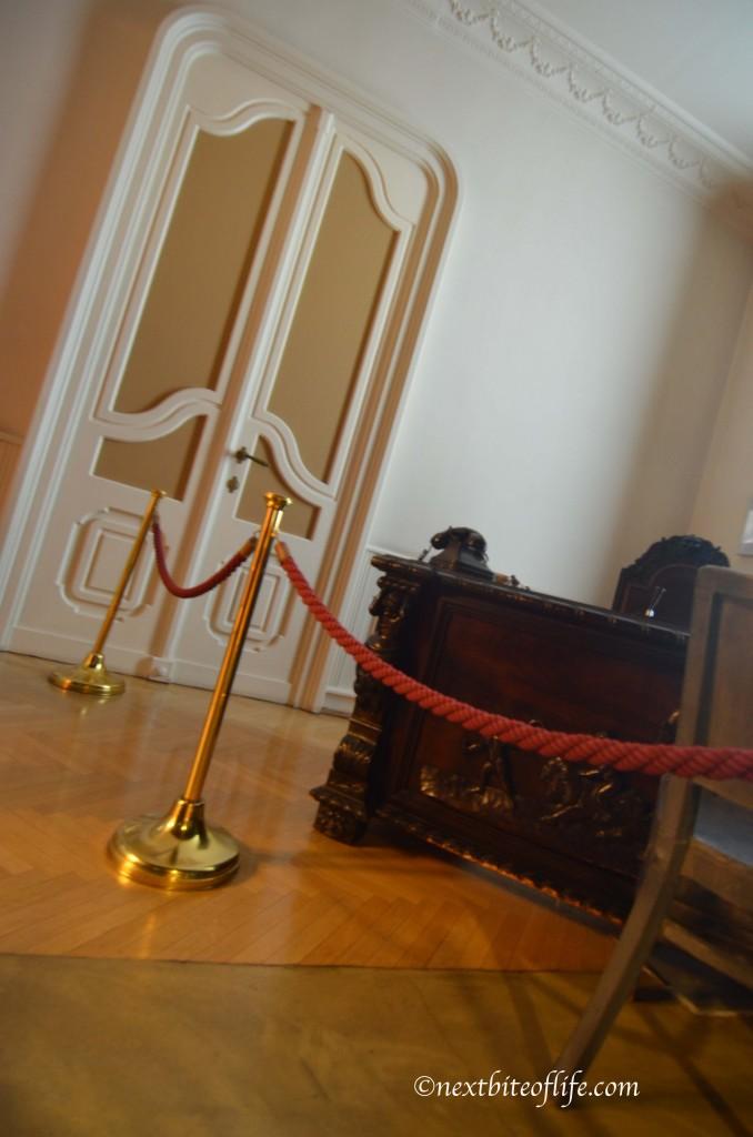 Museum of Terror Budapest interior