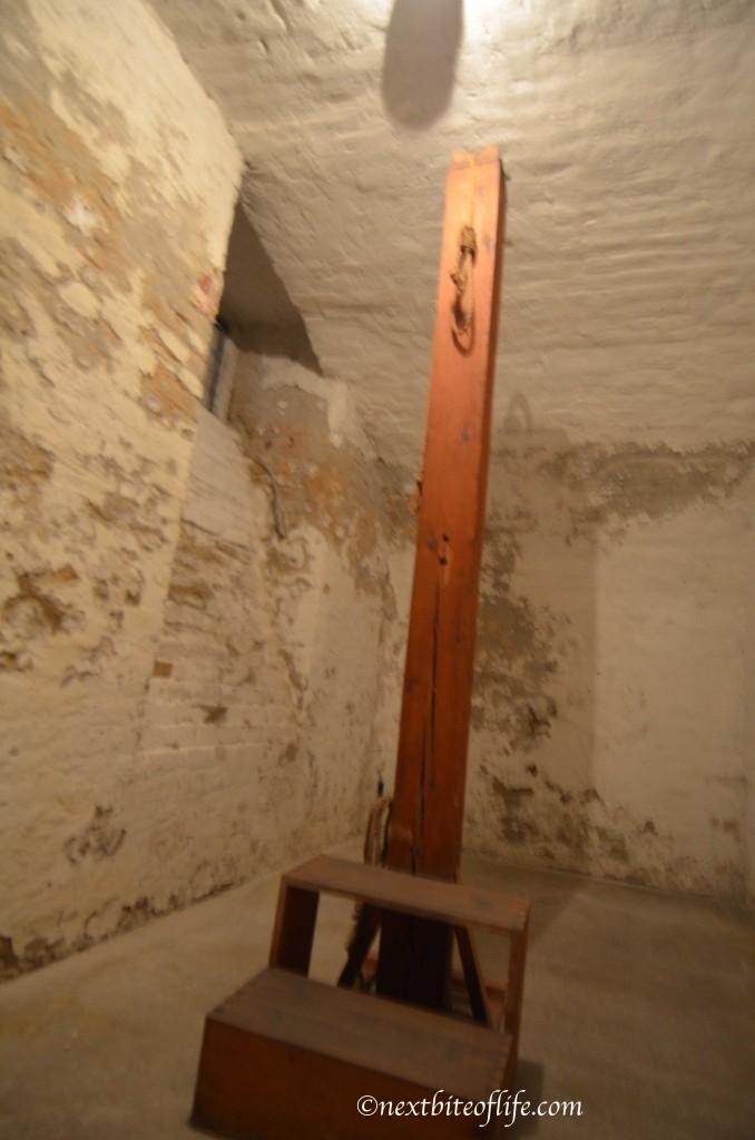 house of terror gallows