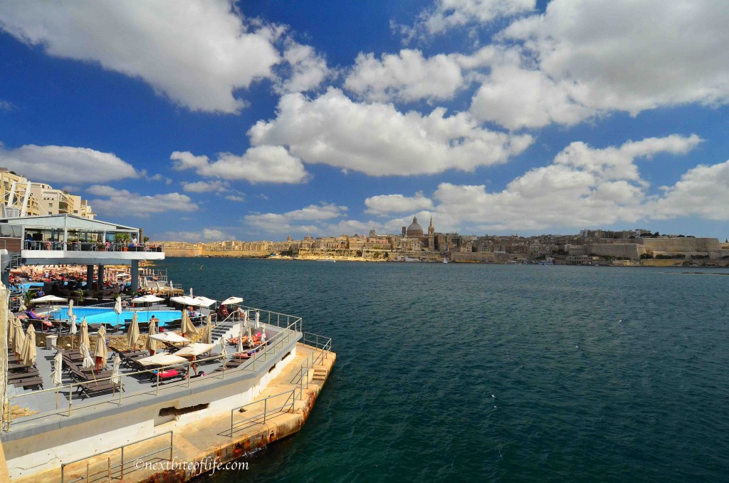 surfside bar and grill view sliema