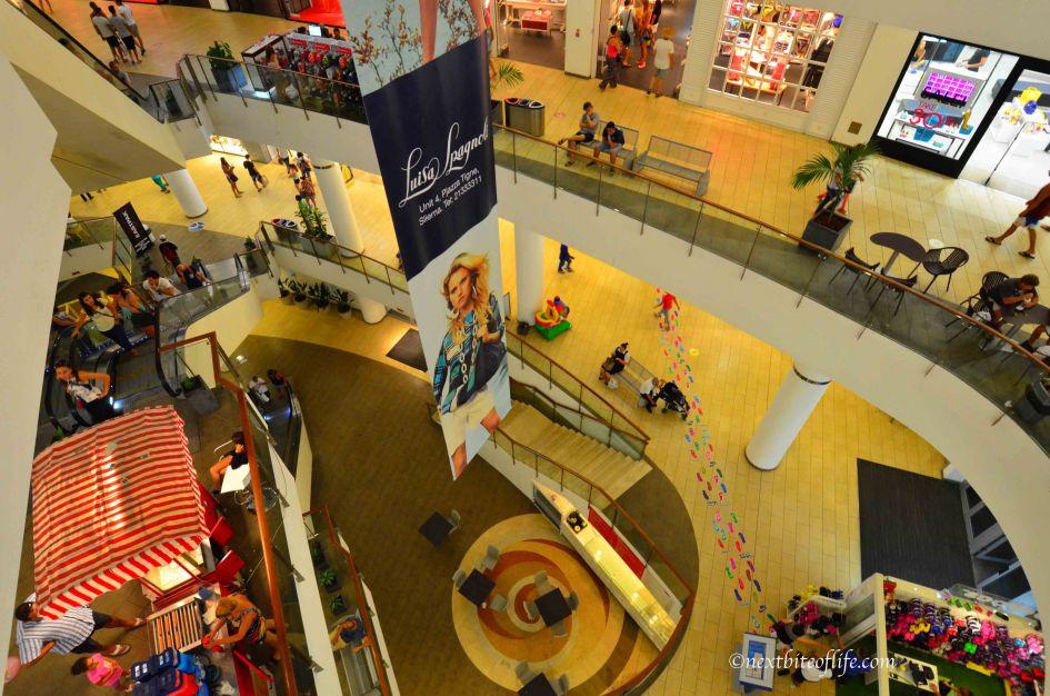 Tigne Point Mall Malta interior