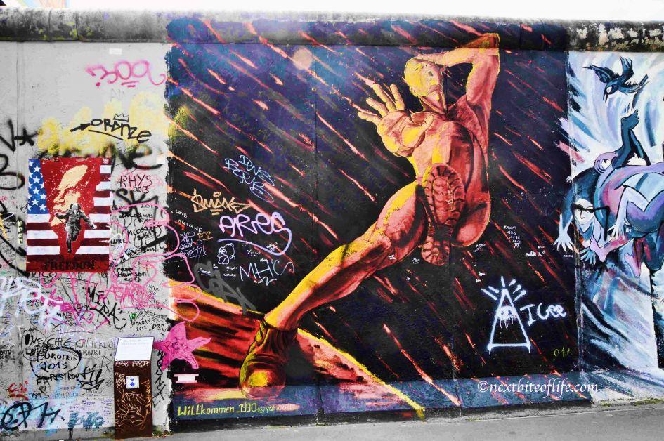 berlin wall art
