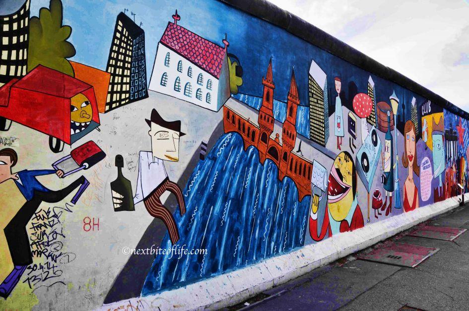 berlin wall drunk guy