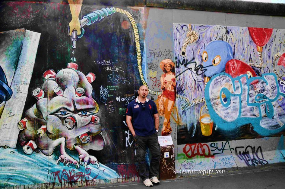 jodie foster mural east side gallery berlin