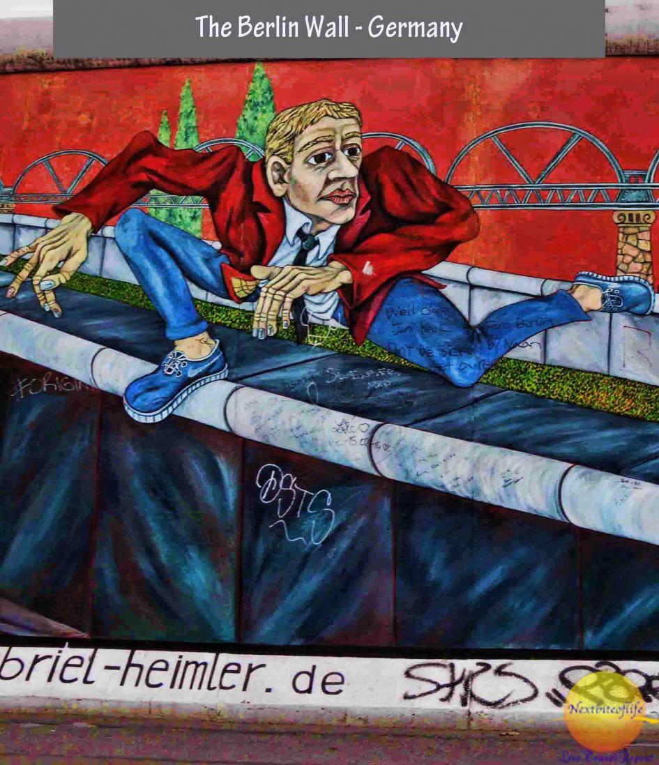 East side gallery the berlin wall