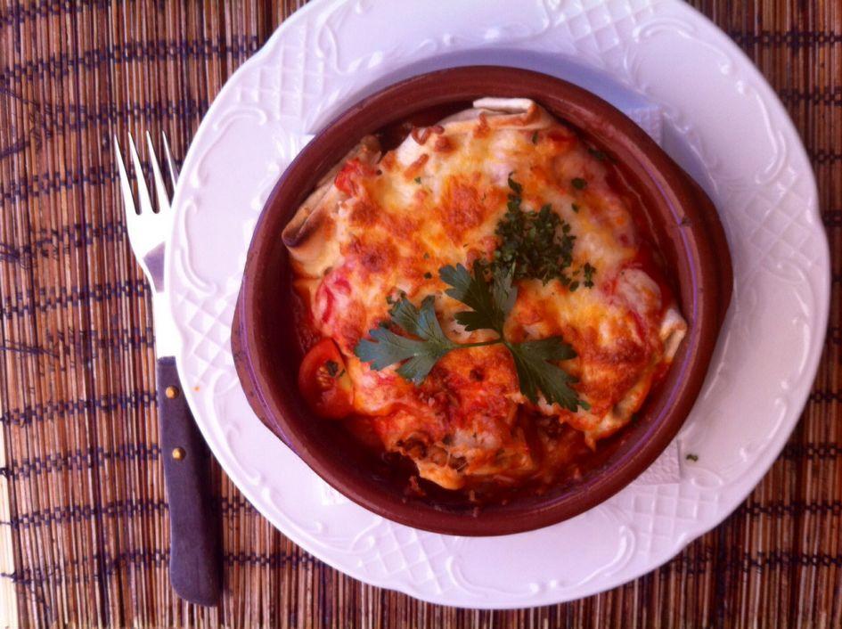 A burrito - relieves stress in Malaga