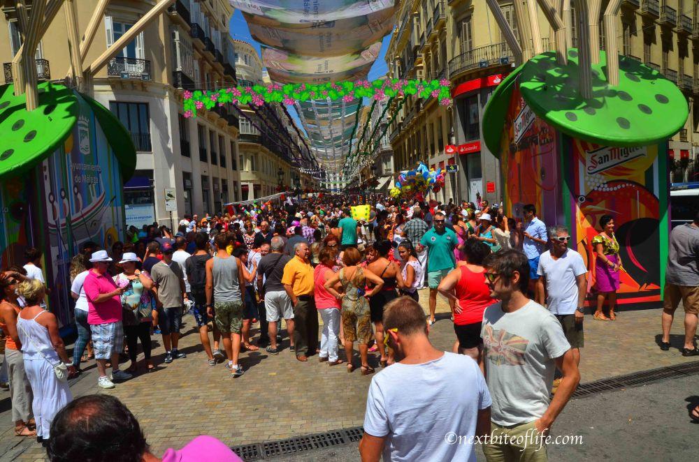 Feria Malaga. A Fun Traditional Festival In Spain