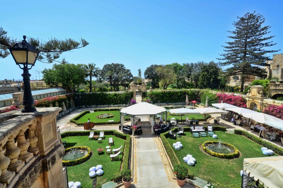 palazzo parse gardens malta