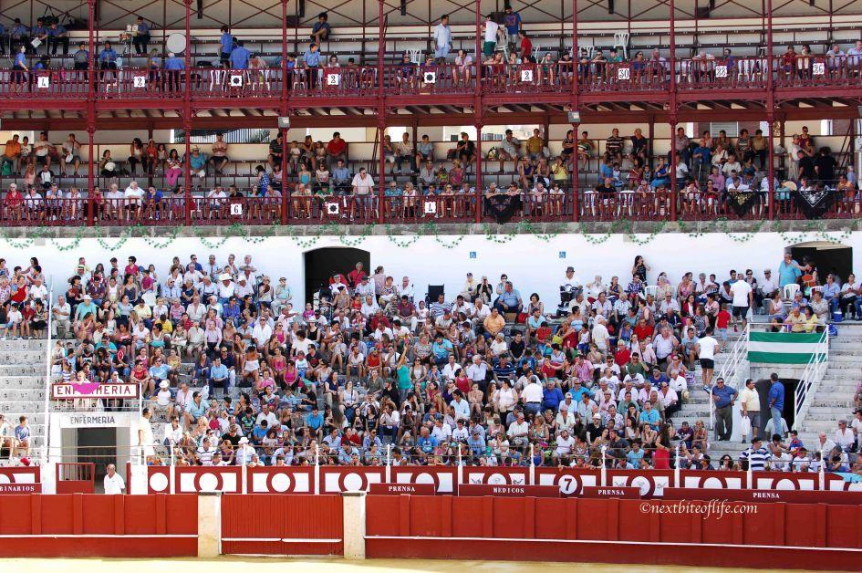 plaza de toros toreador event