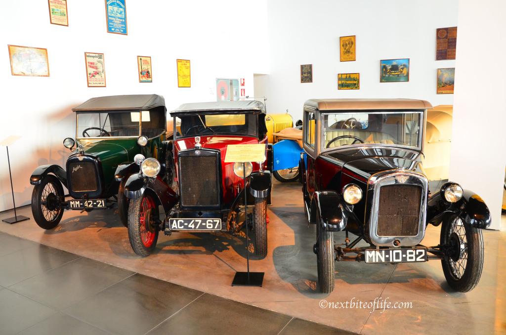 19HP classic cars at museo automovil malaga