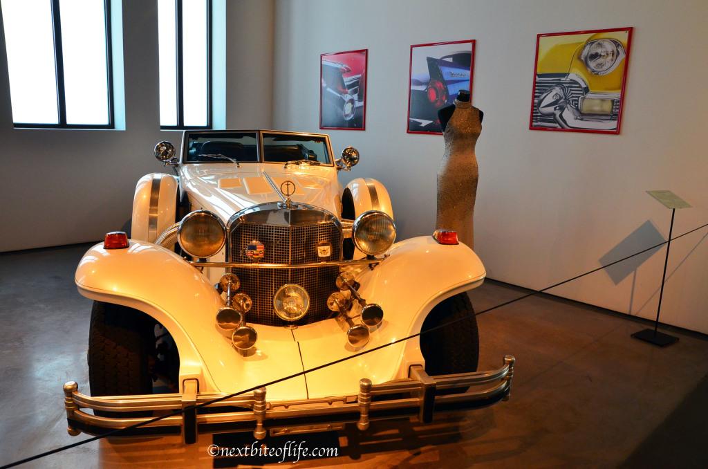 The Arnuld! car at car museum malaga :-)
