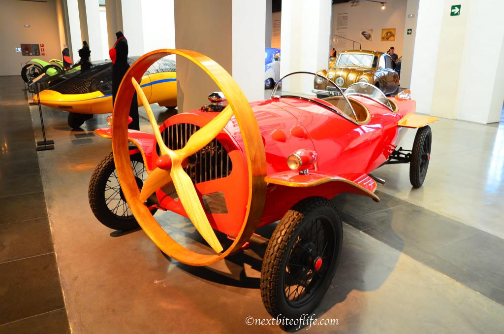 museo automovilistico malaga techron 2 model car