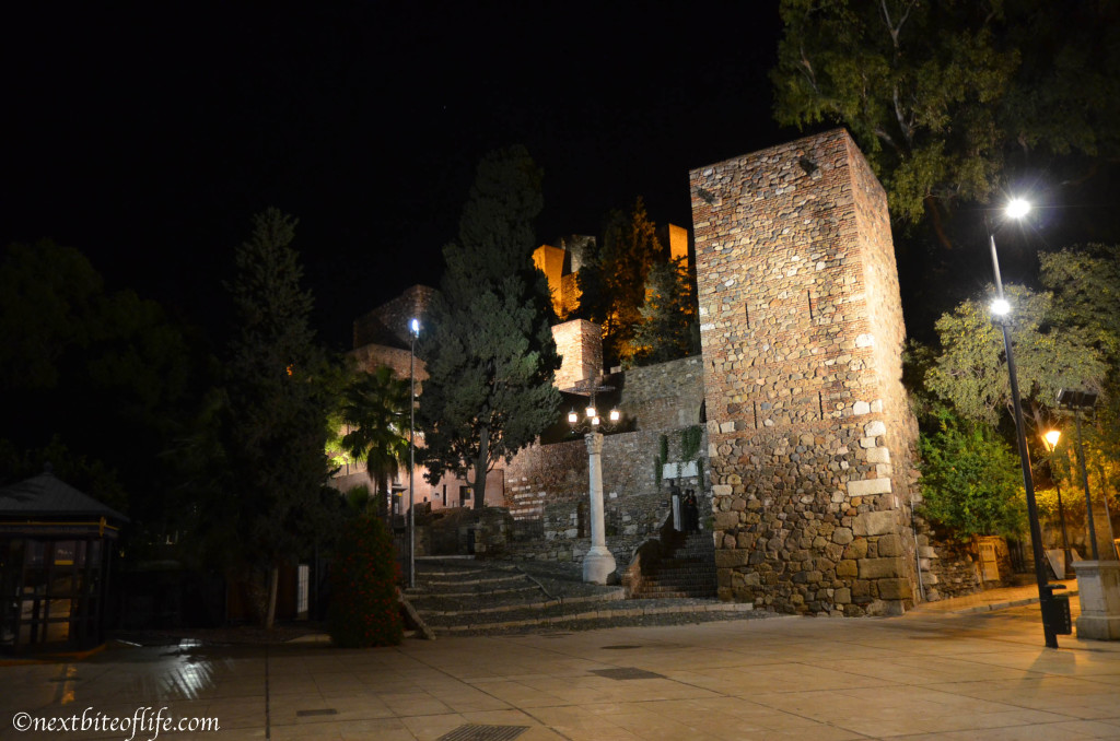 Entrance to the Alcazaba, not quite the Alhambra, but l'm sure its still very nice :-)