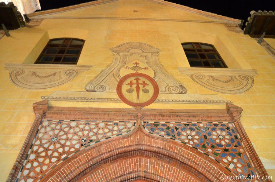This is the Cross of Santiago. It is the actual starting point of the Arabic Camino de Santiago trek.