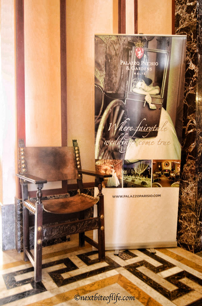 palazzo parisio chair and poster