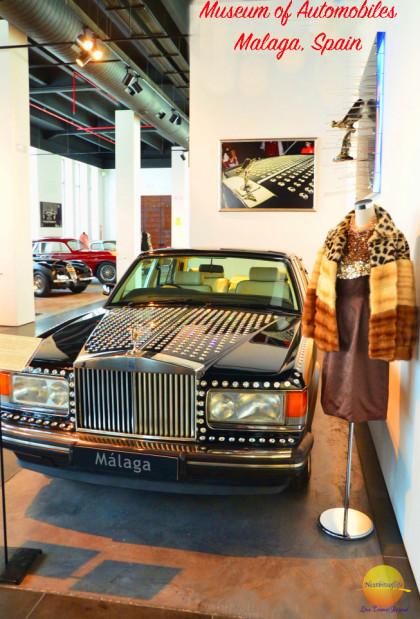 museo automovilistico malaga #Malaga #fashionmuseum #automuseummalaga #classiccar #rollsroyce #swarovski #visitmalaga 3swarovskiroolsroyce #museoautomovilmalaga