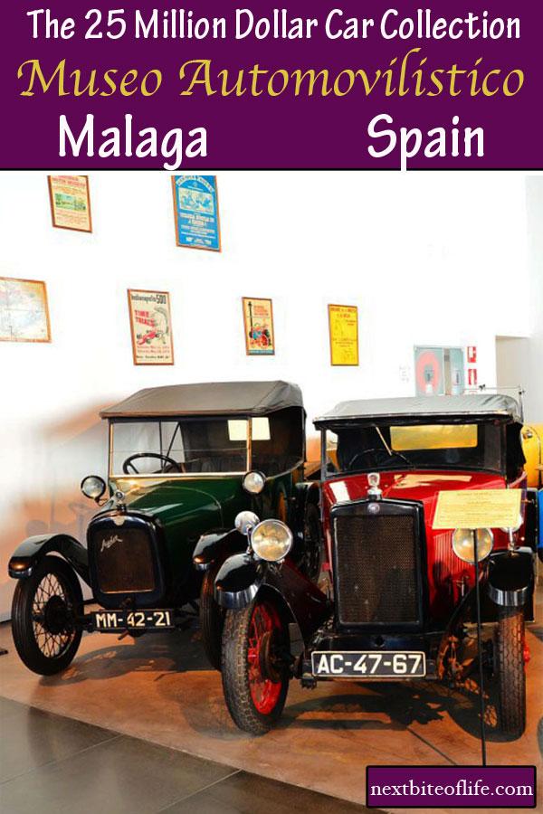 Museo Automovilistico Automobile museum Malaga #malaga #classiccars #spain #museum #automuseum #classiccars #malagamustvisit #vintagecars #carcollection