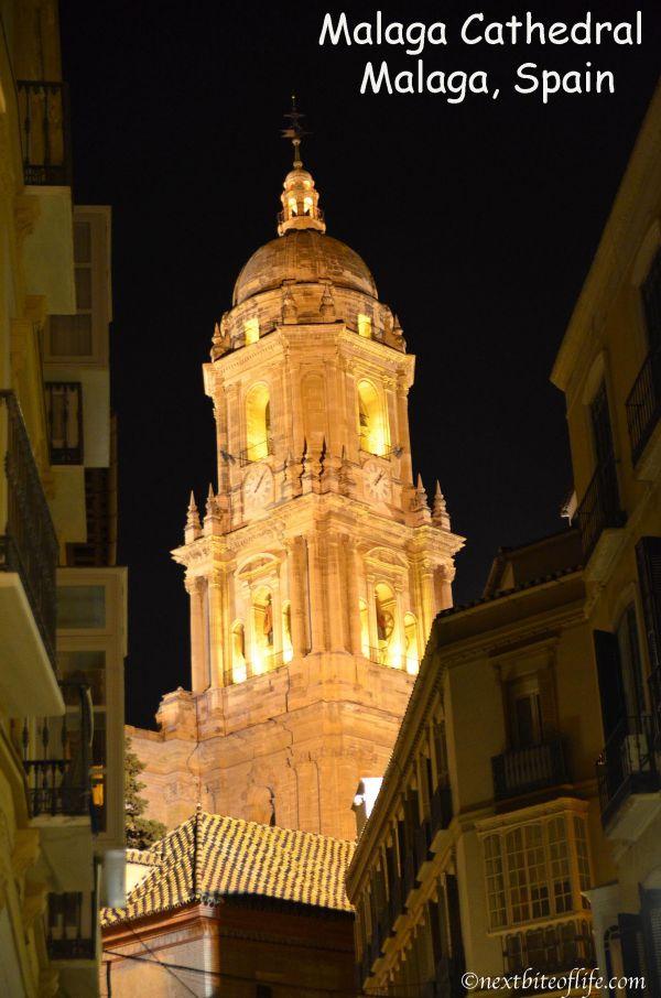 Malaga at midnight - walk through the centre #malaga #malagacenter #oldtownmalaga #visitmalaga