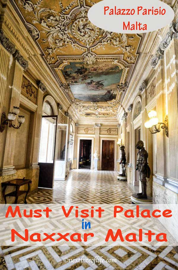 Palazzo Parisio Malta #palazzo #parisio #malta #visitmalta #palazzoparisio