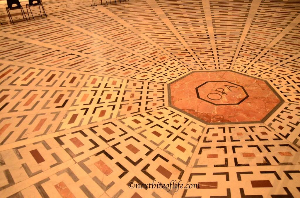 floor of the duomo