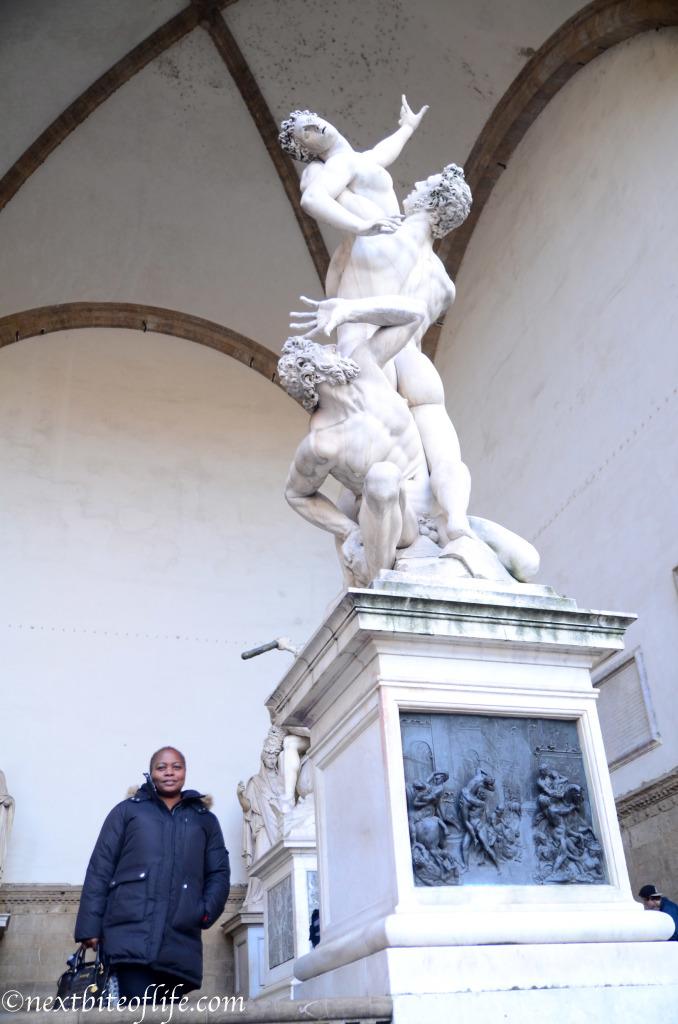 Loved all the statues at the Plaza de la Senorina