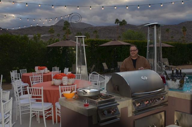 backyard in Palm Springs