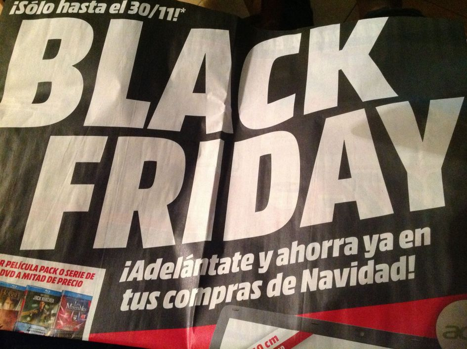 They are trying to start that Black Friday crap over here! :-( :-( :-( . I hope it doesn't catch on!