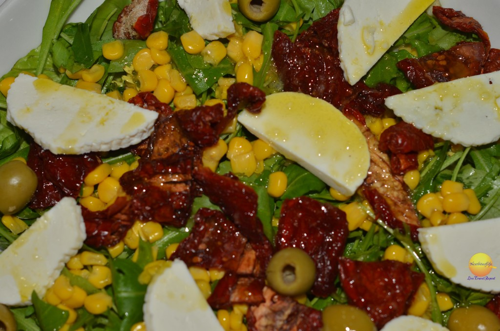Sicilian salad - they were HUGE!