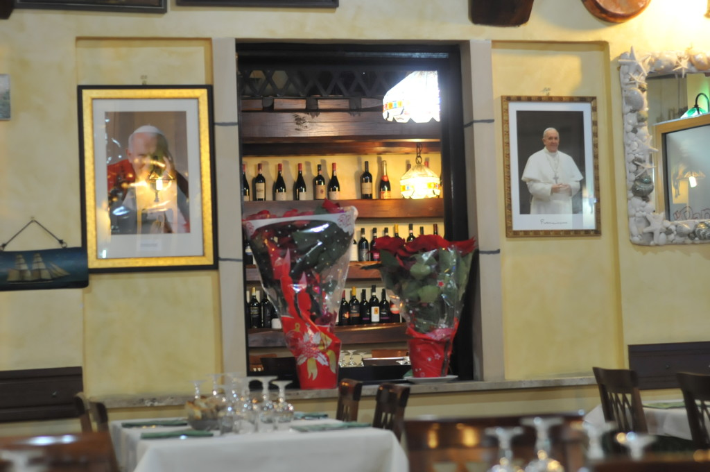 Papetto ristorante interior