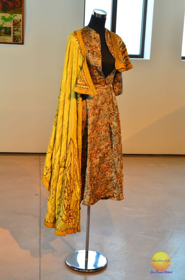 I love this outfit. Matador inspired dress at fashion museum malaga