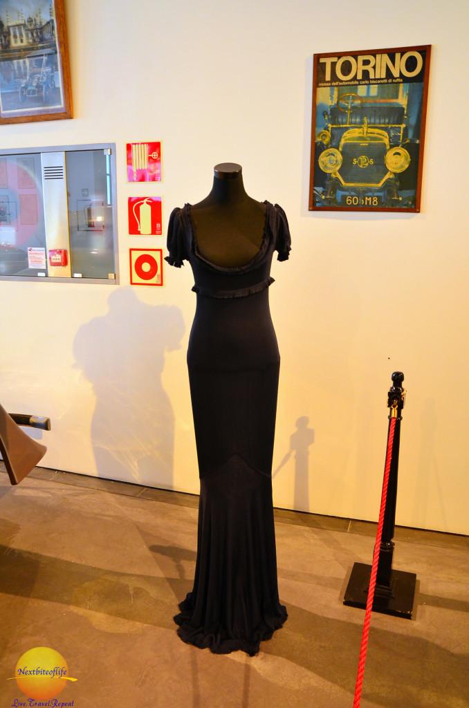 The Naomi Campbell dress. at fashion museum Malaga #thingstodoinMalaga #fashionmuseumMalaga #automuseum