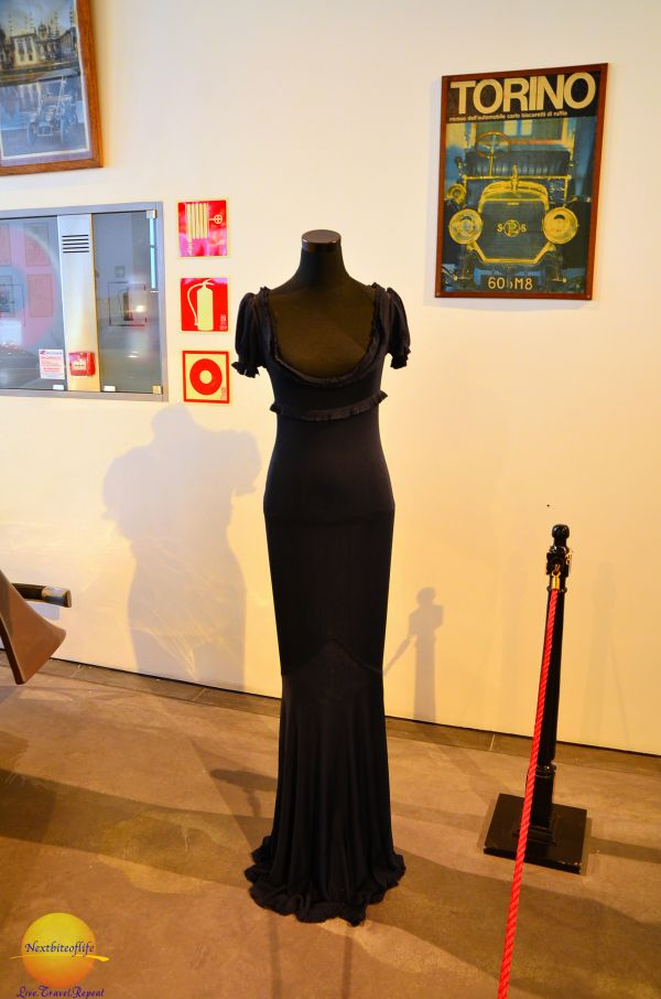 The Naomi Campbell dress. at fashion museum Malaga #thingstodoinMalaga #fashionmuseumMalaga #automuseum