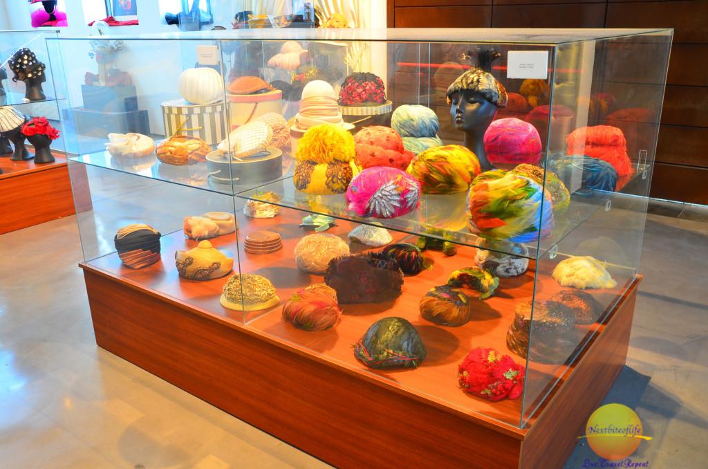 fashion museum hats at fashion museum Malaga