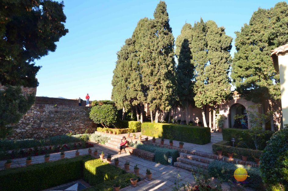 gardens at alcazaba malaga