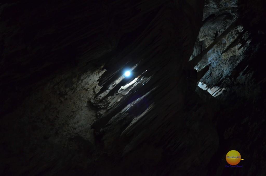 Nerja Cave dimly lit malaga spain
