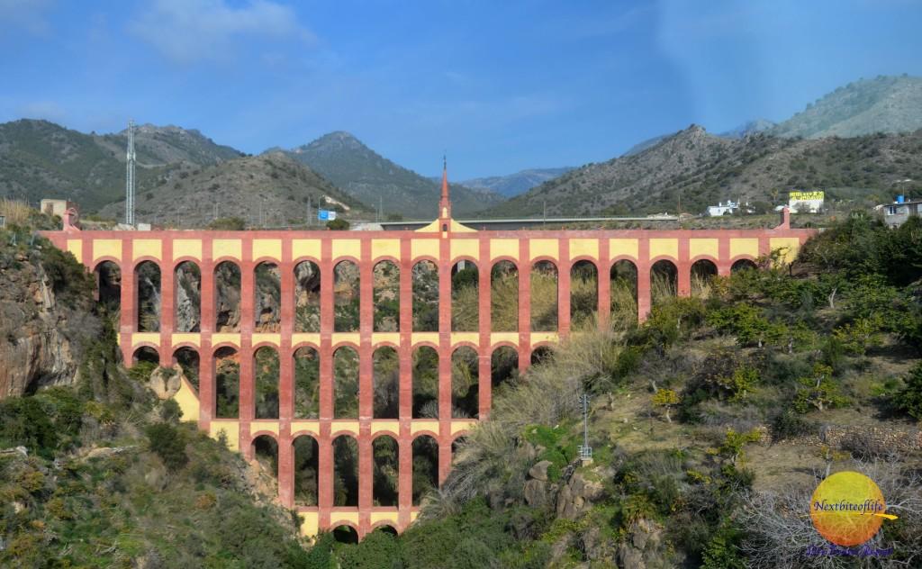 Nerja Cave, eagle aqueduct
