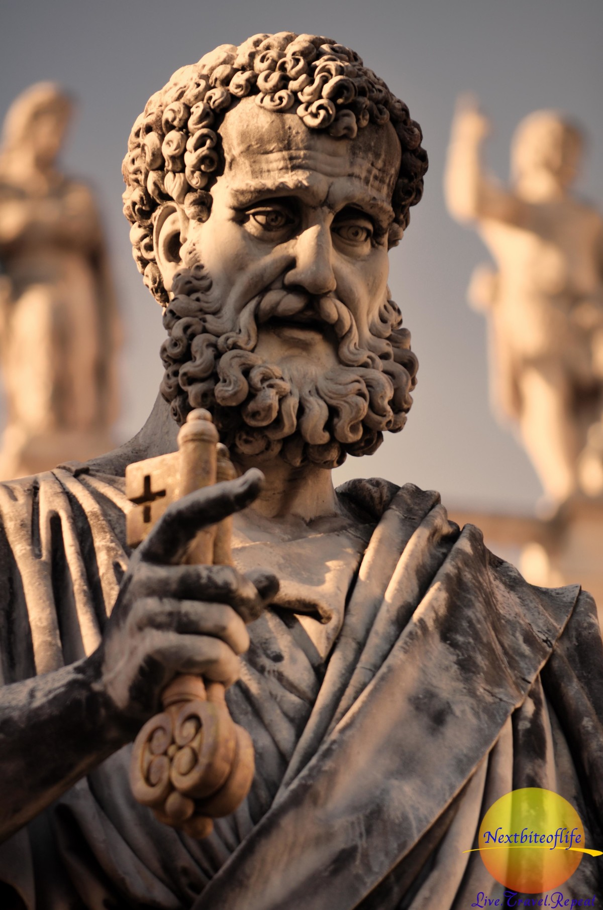 St Peter at the Basilica, Rome.