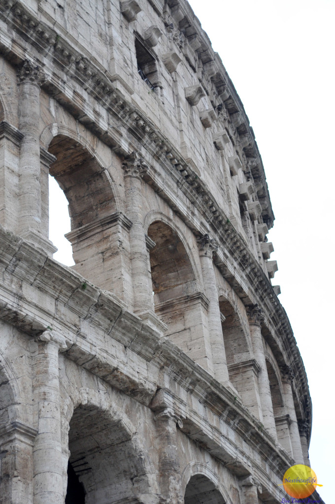 colosseum and the tastiest pizza in rome