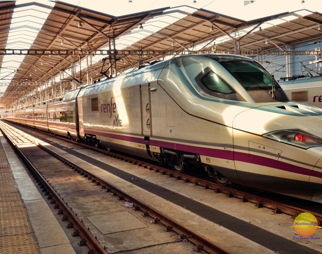 Our train renfre