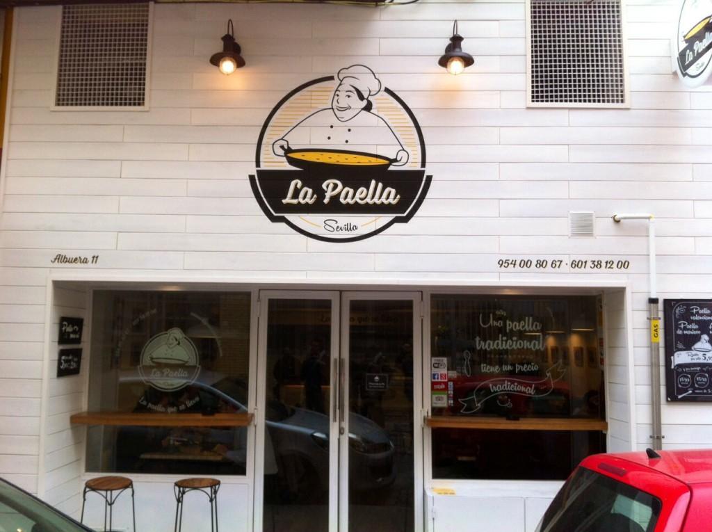 La Paella Seville building