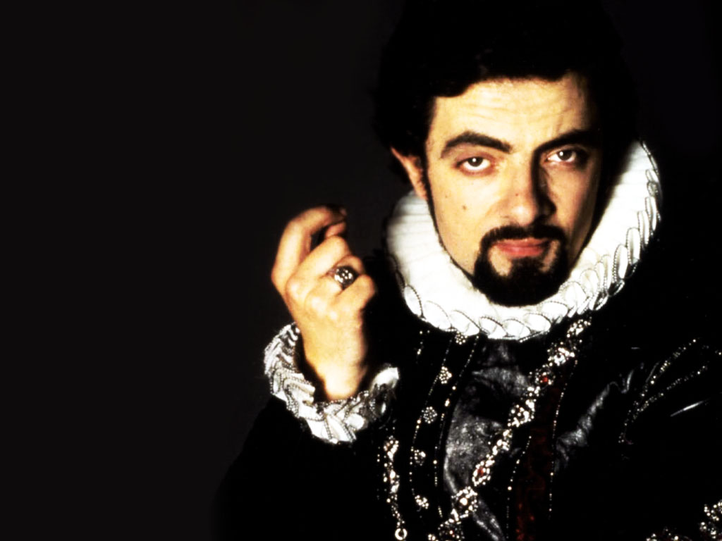 Blackadder with Rowan Atkinson.