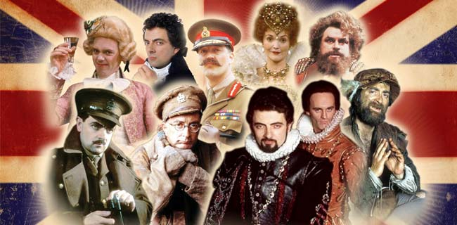 Blackadder cast through the years