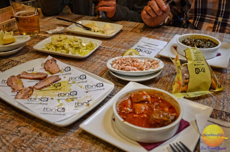 A little bit of this, and a little bit of that! tapas at restaurant seville