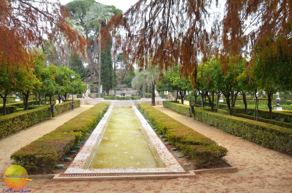 maria luisa park fountain seville