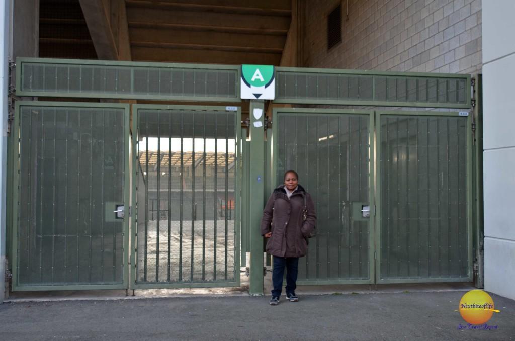 The Heysel Stadium