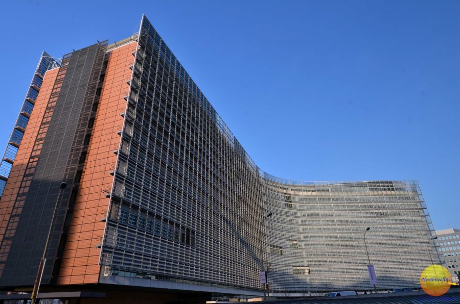 Brussels top highlights of Nato office building