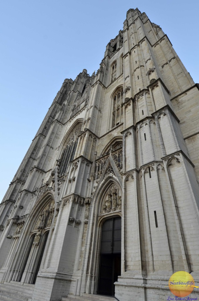 The Cathedral in brussels