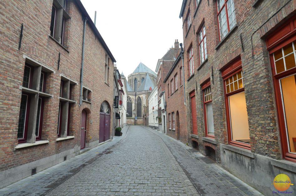 bruges street Belgium
